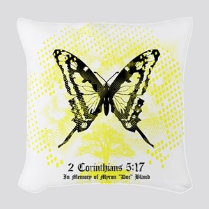 New FiM Butterfly Woven Throw Pillow