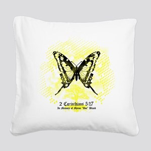 New FiM Butterfly Square Canvas Pillow