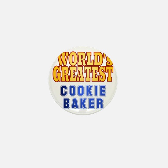 World's Greatest Cookie Baker Mini Button
