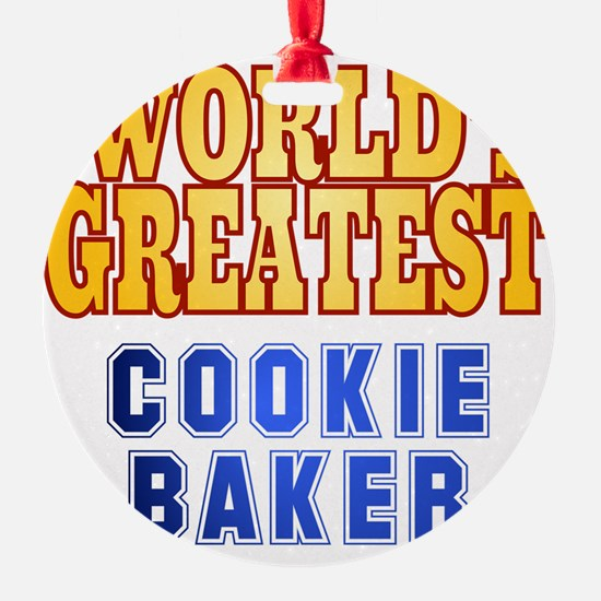 World's Greatest Cookie Baker Ornament