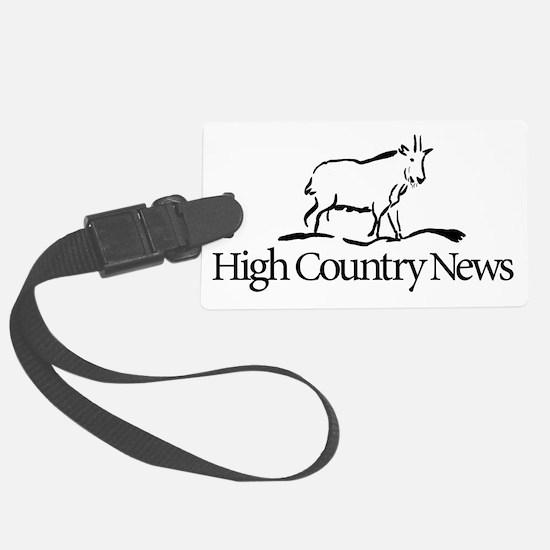 Retro High Country News logo Luggage Tag