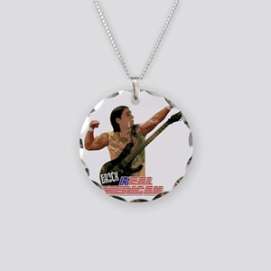 ERock Real American Necklace Circle Charm