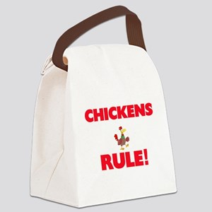 Chickens Rule! Canvas Lunch Bag