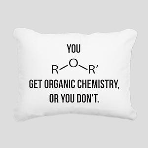 Ether You Get OChem... Rectangular Canvas Pillow