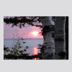 Sunset Lake Superior Postcards (Package of 8)