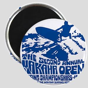 Makaha Surfing 1968 Magnet
