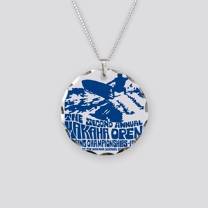 Makaha Surfing 1968 Necklace Circle Charm