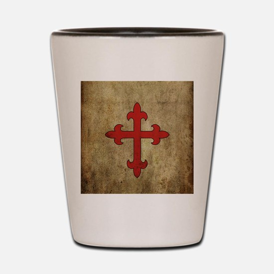 Funny England history Shot Glass