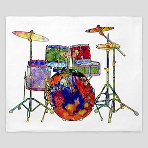 Wild Drums King Duvet