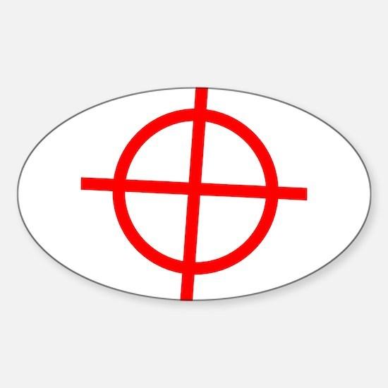 Zodiac Oval Decal