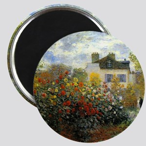 The Garden of Monet at Argenteuil Magnet