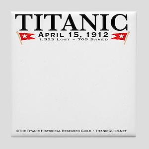 TG2StickyNoteHeaderOnly Tile Coaster