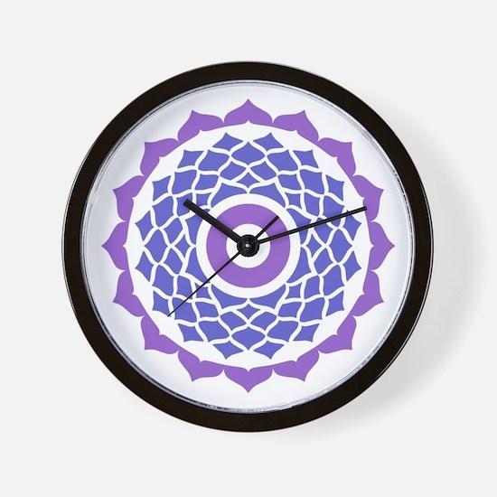 Sahasrara Chakra Wall Clock