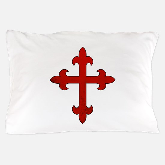 Crusader Cross Pillow Case