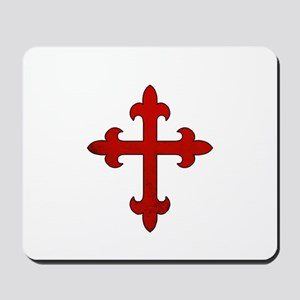 Crusader Cross Mousepad
