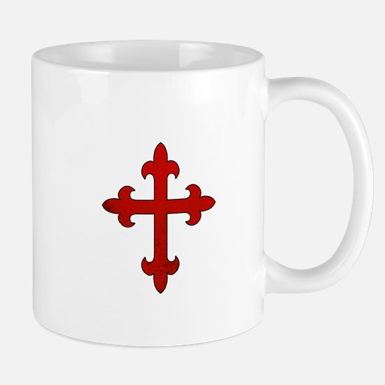Crusader Cross Mugs