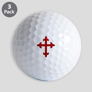 Crusader Cross Golf Balls