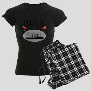 TG2Ghost14x14TRANSBESTUSETHI Women's Dark Pajamas