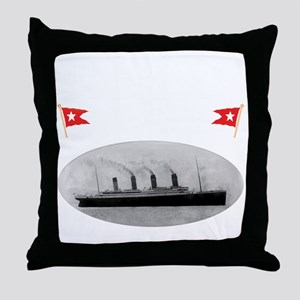 TG2GhostBlack14x14TRANSBESTUSETHIS Throw Pillow