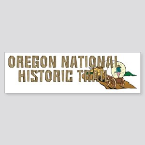oregonnhtrailcap Sticker (Bumper)