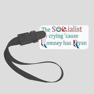 Ryan has socialist crying Small Luggage Tag