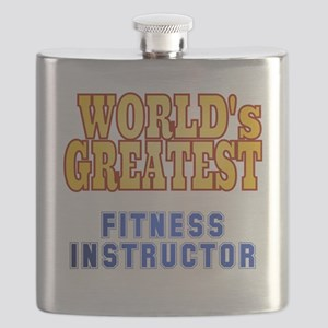 World's Greatest Fitness Instructor Flask