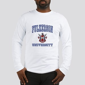 FULKERSON University Long Sleeve T-Shirt