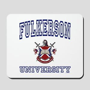 FULKERSON University Mousepad