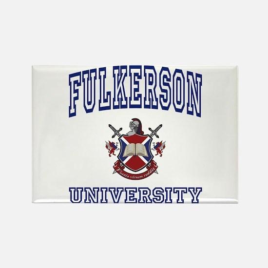 FULKERSON University Rectangle Magnet