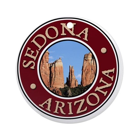 Sedona - Cathedral Rock Round Ornament
