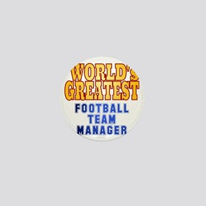 World's Greatest Football Team Manager Mini Button