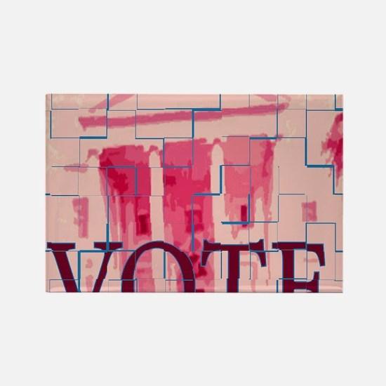 votes Rectangle Magnet