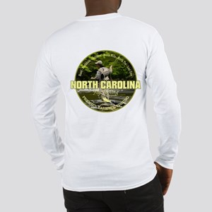 North Carolina Fly Fishing Long Sleeve T-Shirt