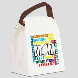 What is a Rugby Mom copy Canvas Lunch Bag