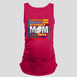 What is a Rugby Mom copy Maternity Tank Top