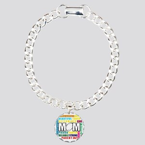 What is a Rugby Mom copy Charm Bracelet, One Charm