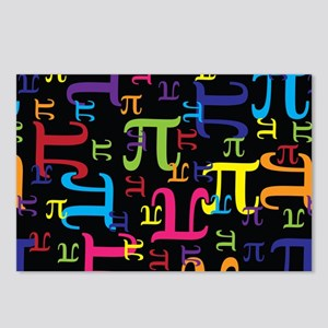 Pieces of Pi Postcards (Package of 8)