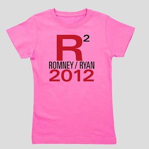 R2 Romney Ryan 2012 Girl's Tee