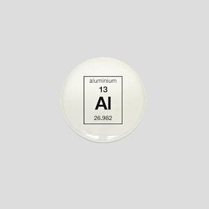 Aluminium Mini Button