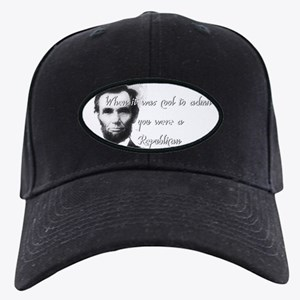 Cool Abe Black Cap