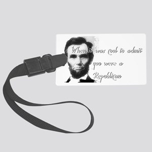 Cool Abe Large Luggage Tag