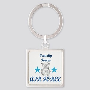Sec. For. Air Force Square Keychain