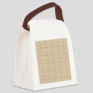 Vintage Patten Canvas Lunch Bag