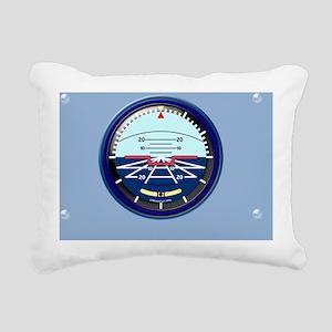 ArtHorizGPostard-b Rectangular Canvas Pillow