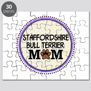 Staffordshire Bull Terrier Mom Puzzle