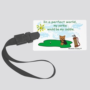 yorkie Large Luggage Tag