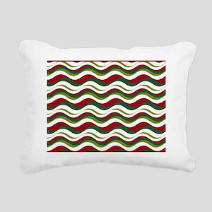 Wavy Rectangular Canvas Pillow