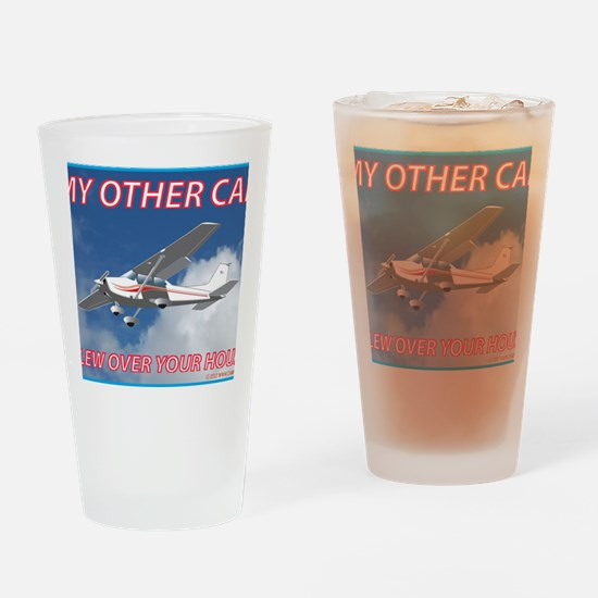 My Other Car- Cessna Drinking Glass