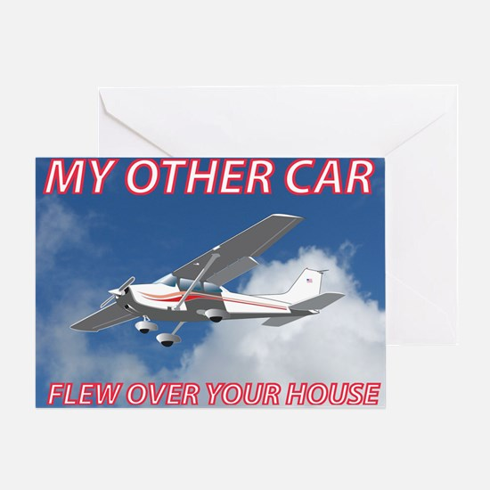 My Other Car- Cessna Greeting Card