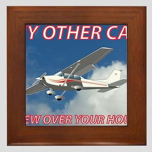 My Other Car- Cessna Framed Tile